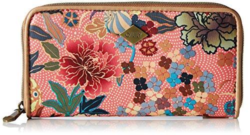 Oilily Damen L Zip Wallet Geldbörse, Pink (Shell Pink), 2.5 x 10.5 x 19.5 (Purse Shell)