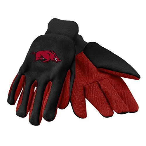 Forever Collectibles NCAA Arkansas Razorbacks 2015 farbigen Palm Utility Handschuh, unisex, Arkansas 2015 Utility Glove - Colored Palm, Arkansas Razorbacks