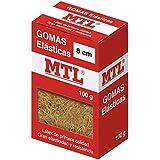 MTL 16367 - Caja gomas elásticas, 8 cm x 1.5 mm