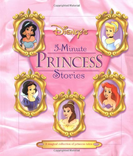 Click for larger image of Disney's 5-Minute Princess Stories (Disney's Princess Backlist)