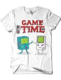 1183-Camiseta Game Time Hora De Aventura (Melonseta)