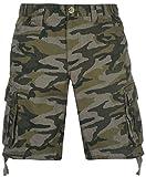 Mens-Summer-Utility-Cargo-Shorts-Cotton-Bottoms