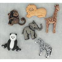 Zoo Craft tasti e decorazioni a forma di 2–Dress It Up
