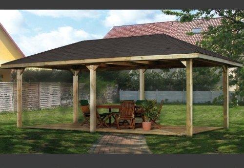 Weka Holz-Pavillon Paradies