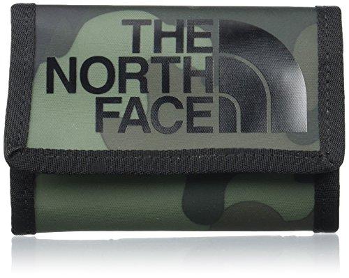 North Face Base Camp Portafoglio, Grigio (Camoprt/Tnfblck), Taglia Unica