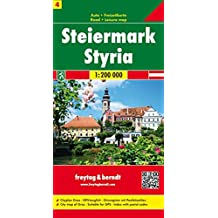Carte routière : Steiermark, Cityplan Graz GPS-tauglich Ortsregister mit Postleitzahlen