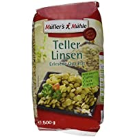 Müller's Mühle Teller-Linsen, 500 g