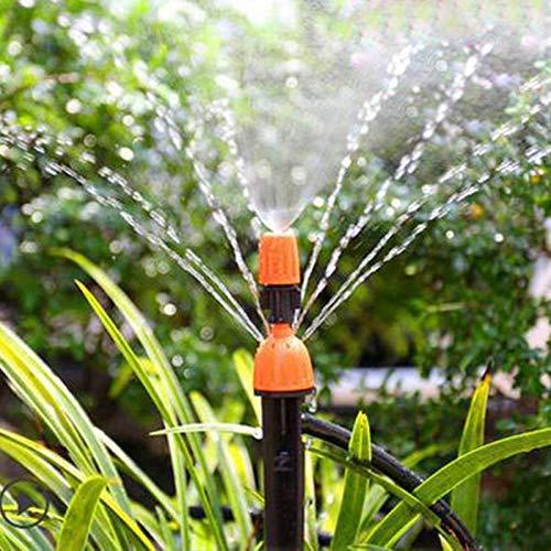 Shoppy étoile 10 pcs/lot réglable 8 Prises Vaporisateur Dripper Irrigation arroseurs arrosage Multifonctionnel Kits Drip Système d'irrigation
