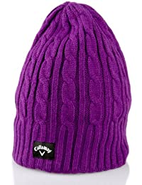 Callaway Ladies 2015 Cable Knit Winter Thermal Womens Golf Beanie Hat