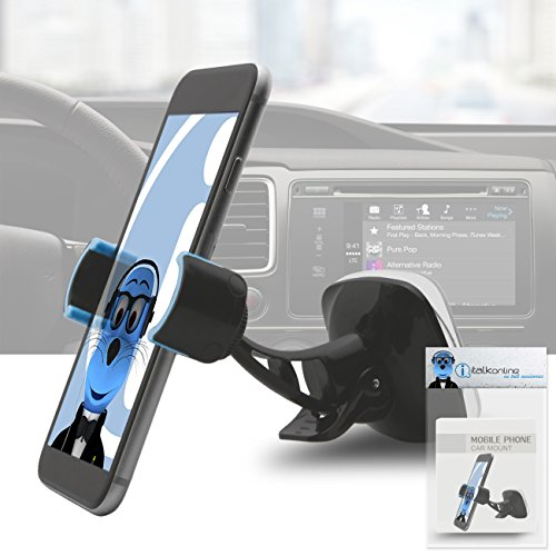 Magnetic Cradle-less Case Compatible Car Mount Holder Windshield Dashboard for Nokia Asha 210  available at amazon for Rs.427