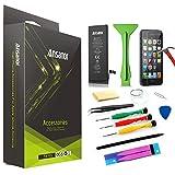 Ansanor® Batterie pour Apple iPhone 6S 1715mAh (outils compris) + Films de protection écran pour Apple iPhone 6S