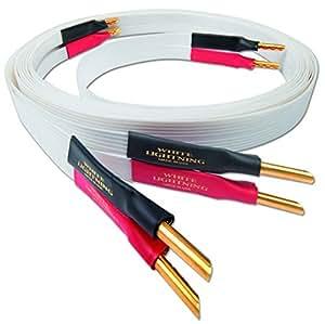 Nordost White Lightning Lautsprecherkabel | Länge: 3.0 m / Anschlussart: single-wire / Stecker: Kabelschuh
