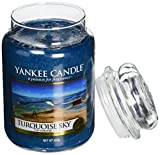 Yankee Candle Glaskerze, groß, Turquoise Sky