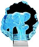 Kaltner Präsente Geschenkidee - Aufsteller Figur Skulptur Ornament aus Glas