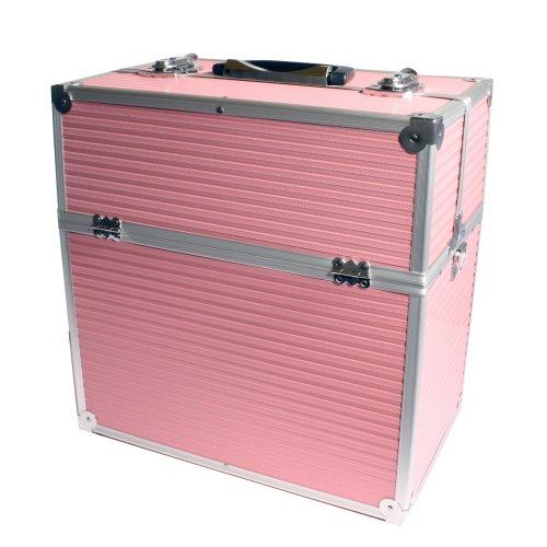 neuf-pro-aluminium-cosmetique-2-couches-coffert-valise-beaute-case-rose