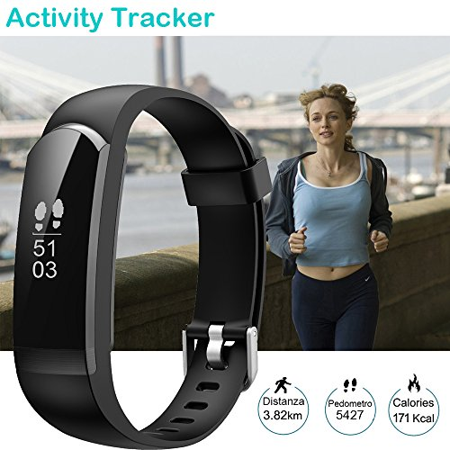 Zoom IMG-1 willful fitness activity tracker braccialetto
