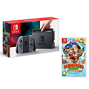 Nintendo Switch 32Gb Grau Pack + Donkey Kong Country: Tropical Freeze
