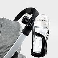 Hemore Cochecito Portabotellas Soportes de Bicicleta Soporte Universal 360 Grados Rotación Antideslizante Copa Soporte para Bebé