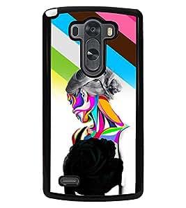 PrintVisa Plastic Multicolor Back Cover For LG G3 D855