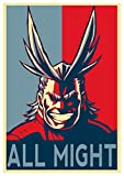 "Poster My Hero Academia ""Propaganda"" All Might - A3 (42x30 cm)"