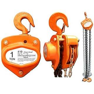 American Power Pull CORP 410 Chain Block, 1-Ton