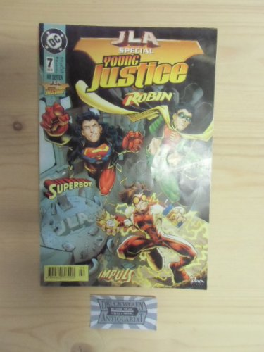 JLA special - NR.7 - Young Justice Robin & Superboy. (Robin Young Justice)