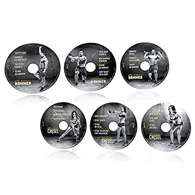 Beachbody Hammer and Chisel Resistance Training Workout Fitness DVD Programme from Beachbody