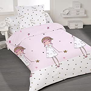 make a wish soulbedroom 100 baumwolle kinderbettw sche bettbezug 135x200 cm kissenbezug. Black Bedroom Furniture Sets. Home Design Ideas