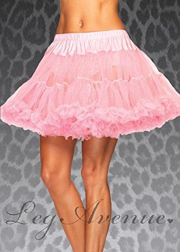 80er Jahre pink Plus Größe Schichten Tüll (80er Größe Plus Kostüm Jahre)