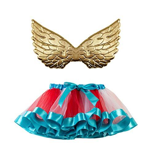 Flieder Prinzessin Kind Kostüm - Frashing Fee Kostüm Kinder Tutu und