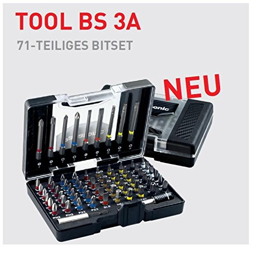 Preisvergleich Produktbild Panasonic Werkzeug Tool BS 3A EU Schrauben Bitset 71 teilig