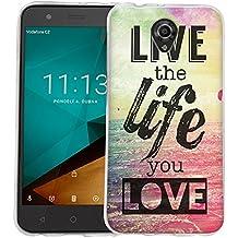 Dooki, Smart Prime 7 Funda, Delgado Suave Silicona TPU Protectore Teléfono Cubierta Caso Carcasa Para Vodafone Smart Prime 7 (A-3)
