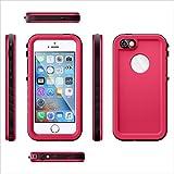 Étui étanche Housse Coque pour iPhone SE 5SE 5 5S Outdoor Sport Case Étui de Cellulaire Pleine Sealed IP68 Anti-choc Neige Imperméable Preuve Anti-poussière Waterproof Sous-marine étuis Cover