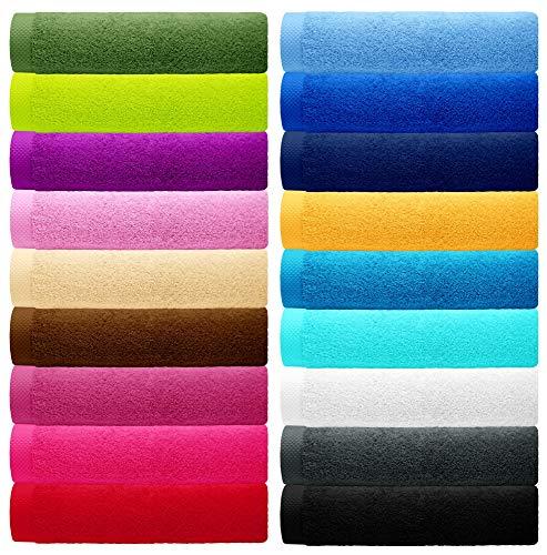 Handtuch Bitte beachten Sie, dass die Farben auf Ihrem Monitor von den Originalfarbtönen abweichen können.