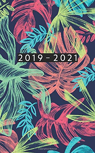 2019 - 2021: Weekly Planner Starting October 2019 - September 2021 | 5 x 8 Dated Agenda | 24 Month Appointment Calendar | Organizer Book | Soft-Cover Tropical