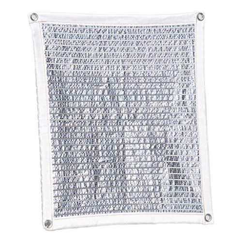 Zyb Papier d'aluminium de protection solaire, pare-soleil d'isolation thermique, filet de sécurité, fenêtre de soleil, balcon, fenêtre supérieure, rebord de la fenêtre, extérieur, jardin, extérieur