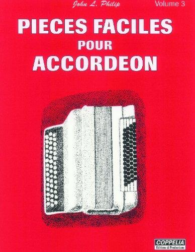 Partition: Accordéon vol. 3 pièces fac...