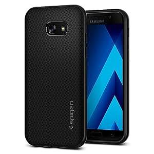 Spigen Coque Samsung Galaxy A5 2017, [Liquid Air] Coussin d'air [Noir] Flexible, Silicone Souple/Housse Etui Coque Galaxy A5 2017 (573CS21143)