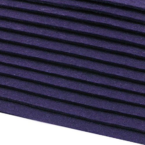 12 Filzplatten Bastelfilz Filz blau 2-3 mm dick DIN A4 20×30 cm