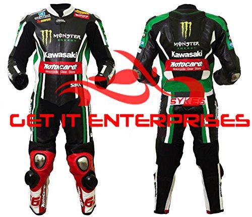 Kawasaki Monster Energy Racing Motorrad Leder Anzug Replica von Gie (Anzüge Valentino Herren)