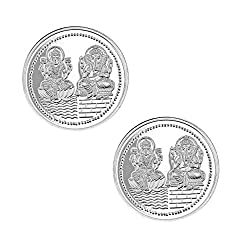 Pure Silver Coin 999 fineness Lot of 2 pcs of 25 gram each