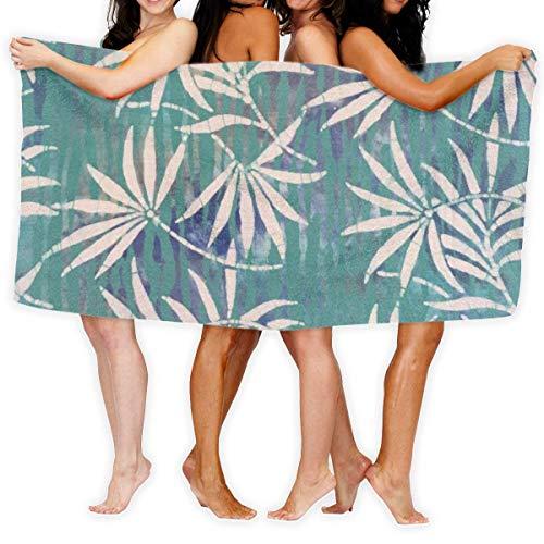 "YUYUTE Strandtücher Für Frauen Männer Blanket Summer Padang Beach Tree Leaves Bath Sheets Premium 100{d25985dee4b8c059691ae11cf7f097a45345c04f155283b4ddc567701cbff3a1} Polyester Multipurpose Large Towel Cover for Yoga Mat Tent Floor 31.5\"" X 51.2\"""
