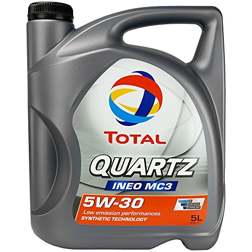 Oil TOTAL QUARTZ INEO MC3 5W30 - 5 LITERS