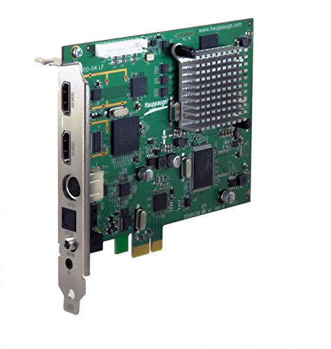 Hauppauge Colossus 2 PCI Express Video Registratore, Nero/Antracite