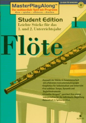 Price comparison product image Student Edition - schott digital music library - Flute - CD-ROM - SDL 1046