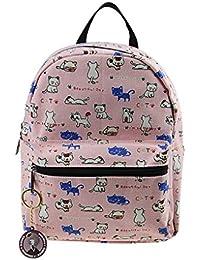 Preisvergleich für Babyrucksack, Kindergartenrucksack, Kindergartentasche Backpack Schultasche Kinder Niedliche Muster Rucksack Canvas...
