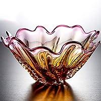 CKH Cristal Verre Fruit Bowl Art Moderne Grande Capacité Fruit Plate  Couleur Personnalisé Forme Fruit Plate 54f052154127