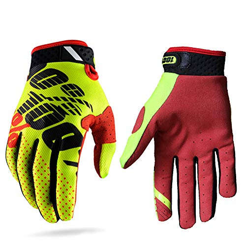 Guantes carreras motocross hombres mujeres; guantes