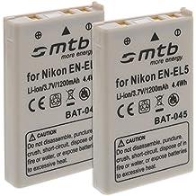 Batteria EN-EL5 per Nikon Coolpix P3 P4 P80 P90 P100 P510 P5000 P5100... + oltre (vedi lista)