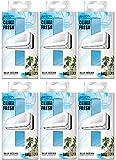 AREON Clima Deodorante Ambiente Oceano Blu Filtri Condizionatori Profumati Casa (Blue Ocean Set di 6)